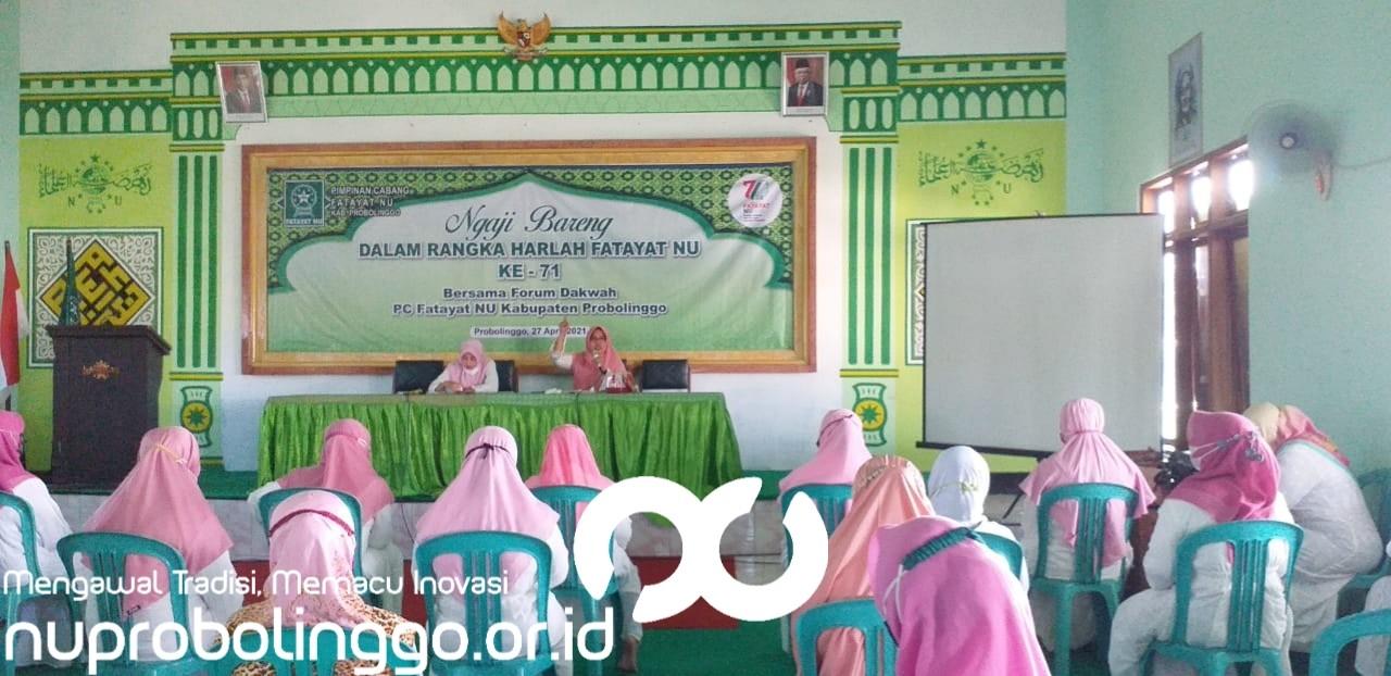 Peringati Harlah ke 71, Ini Rangkaian Kegiatan Fatayat NU Kabupaten Probolinggo
