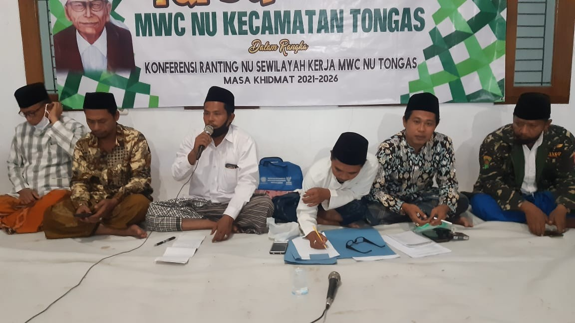 MWCNU Tongas Mulai Turba Rapat Anggota Pengurus Ranting