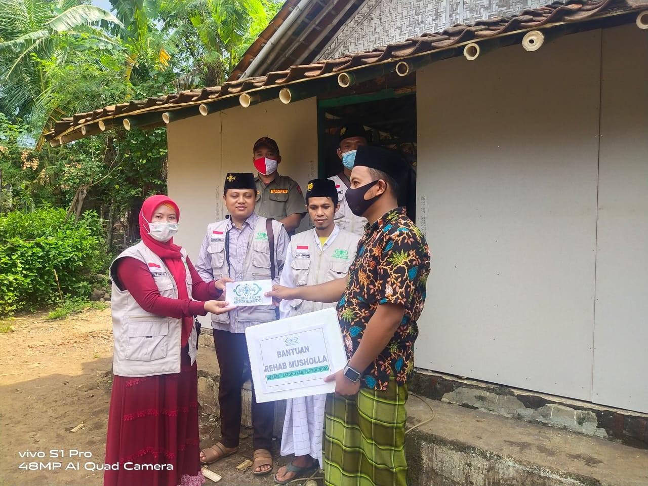 Lazisnu Probolinggo Bantu Rehab Musala di Daerah Terpencil