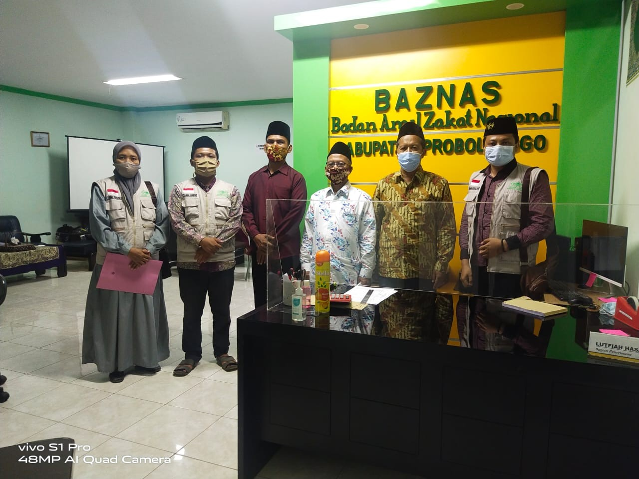 Bangun Sinergi, Lazisnu Kunjungan Kerja ke Baznas Probolinggo