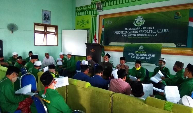 Musyker I PCNU Kabupaten Probolinggo