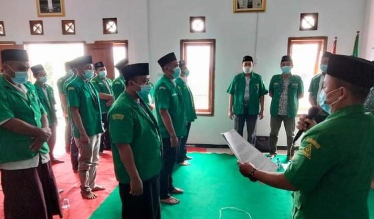 PAC GP Ansor SULTAN Resmi Dilantik Pada Momen Harlah NU ke-98