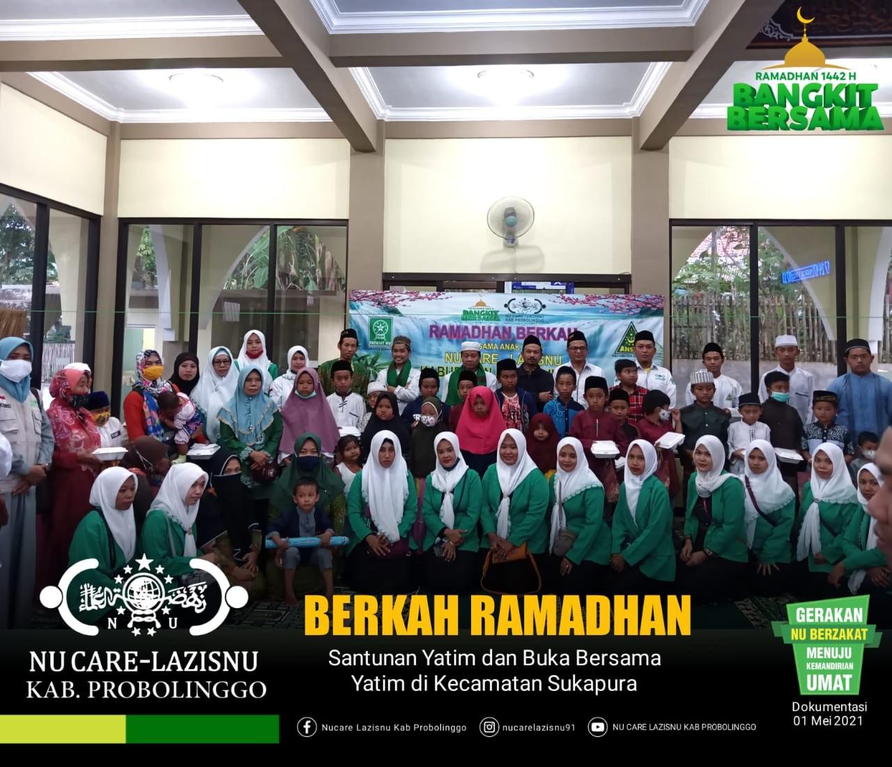 Berkah Ramadhan, PC Lazisnu Kembali Berbagi